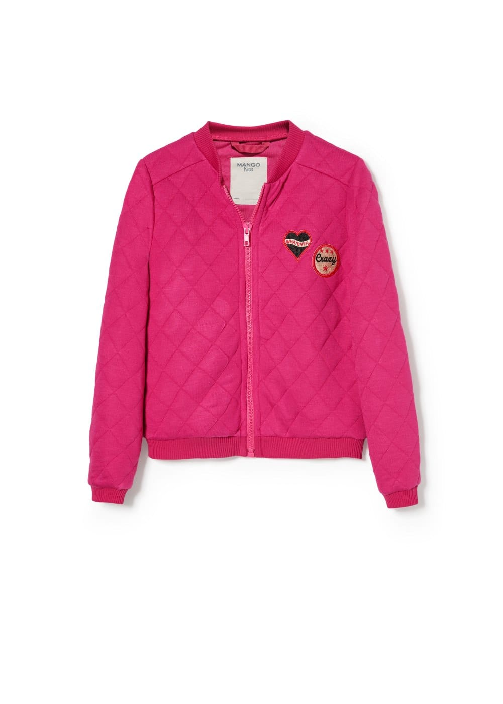 Patch bomber jacket | MANGO KIDS