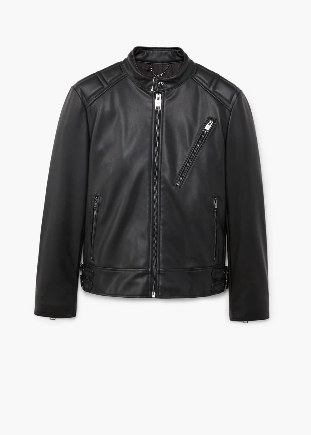 Quilted panel jacket | MANGO