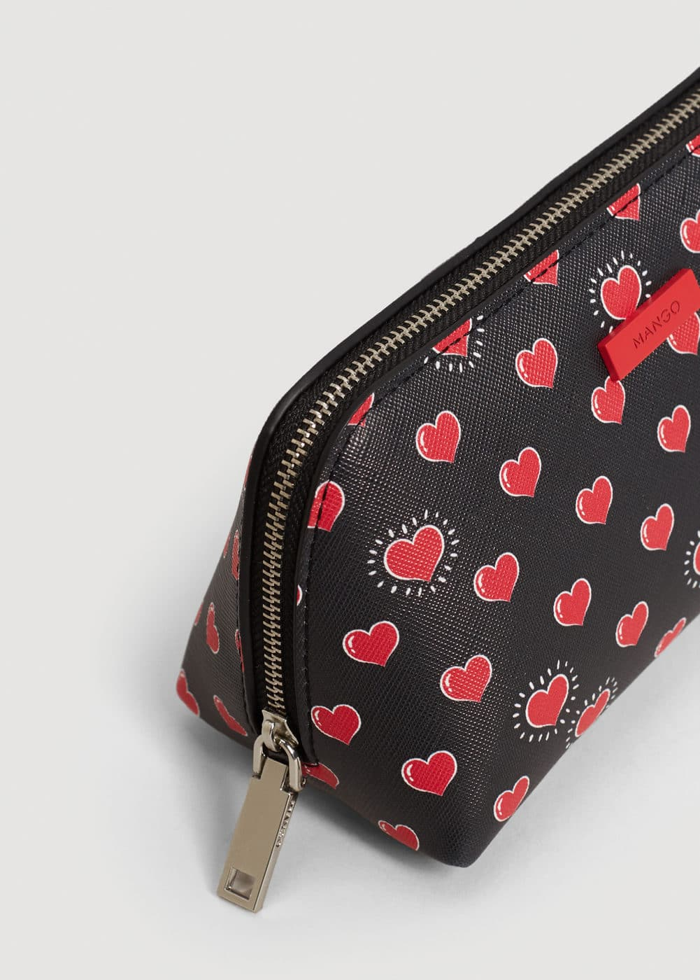Printed cosmetic bag | MANGO