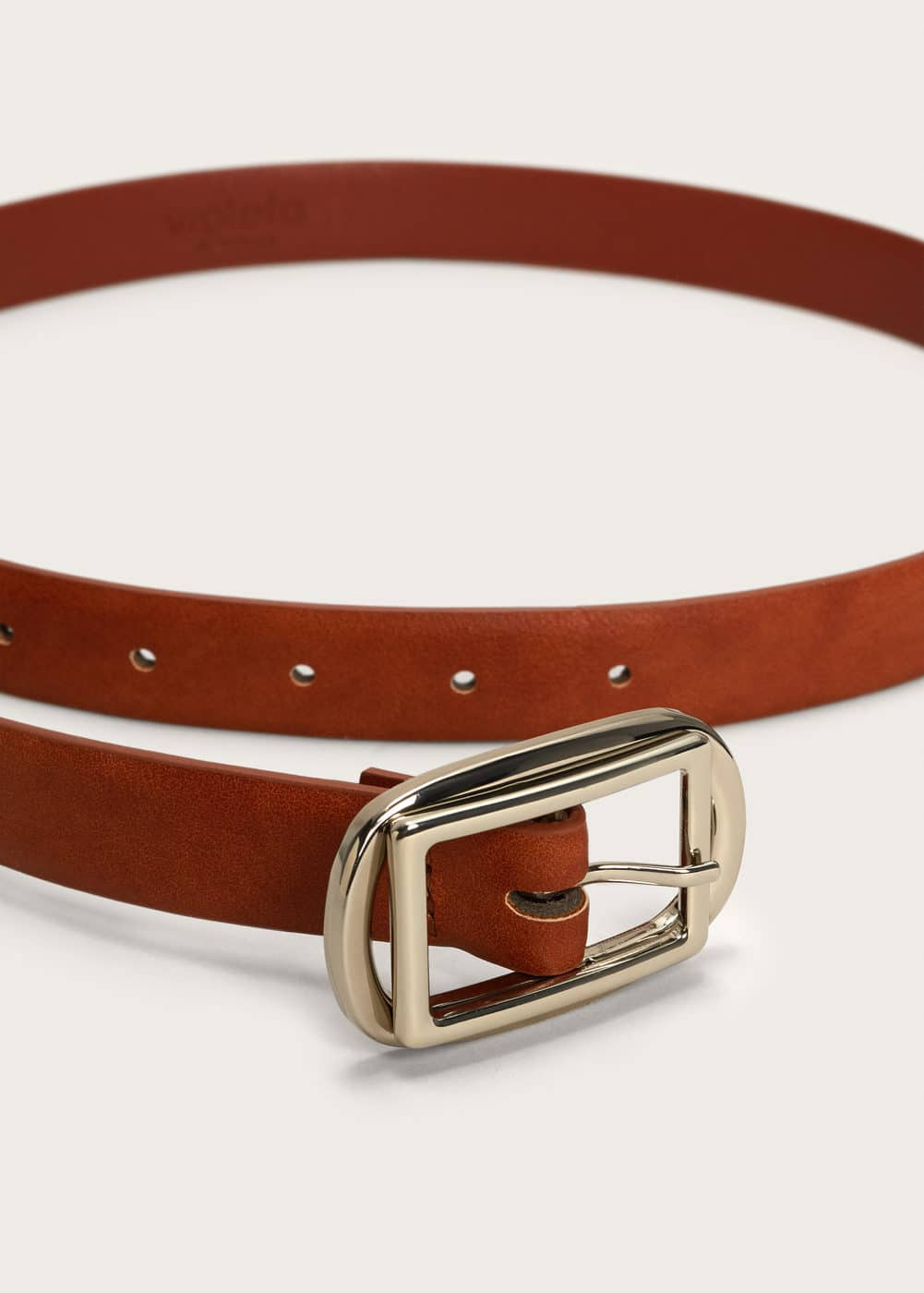 Double buckle belt | VIOLETA BY MANGO