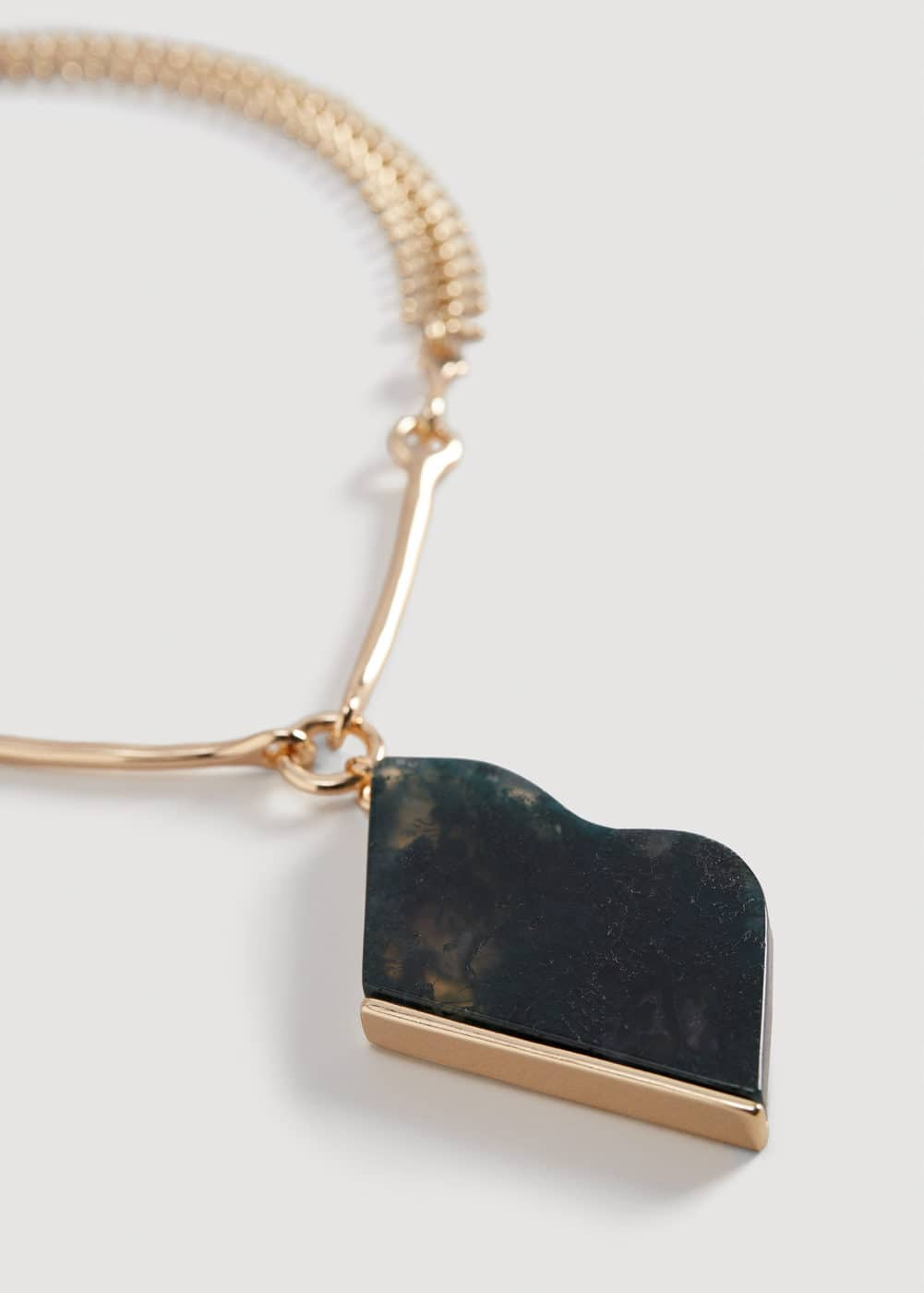 Semiprecious stone necklace | VIOLETA BY MANGO