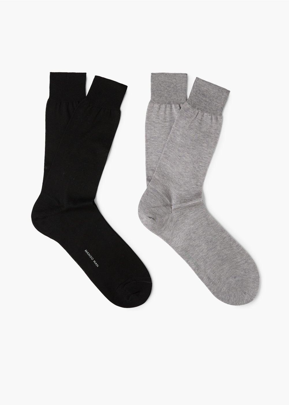 2 pack flecked socks | MANGO MAN