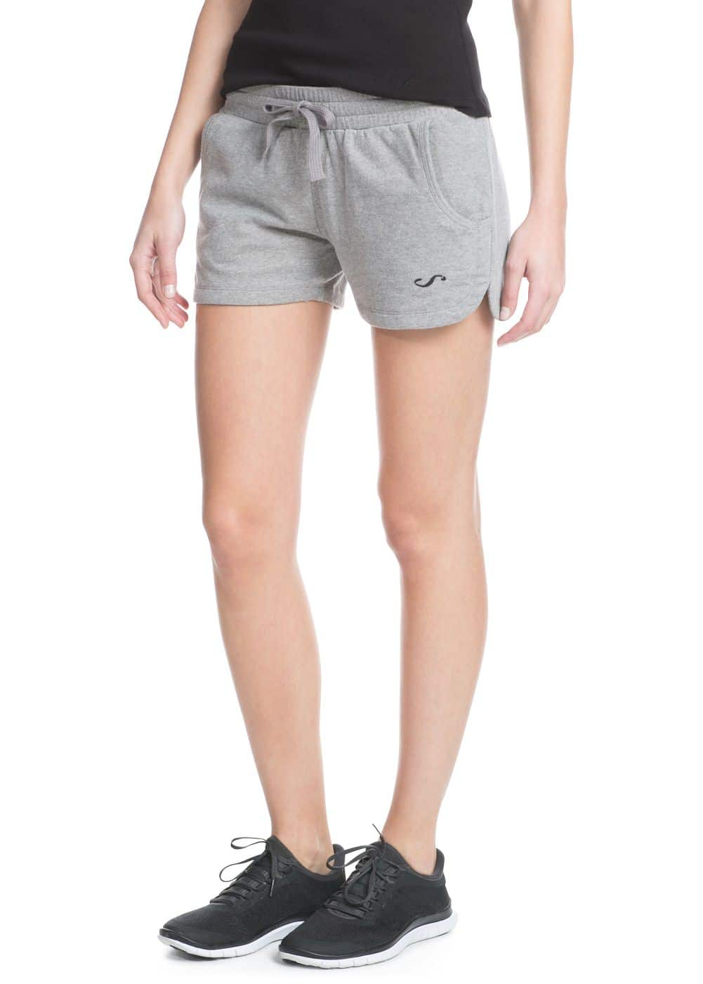 Yoga - two-pocket stretch shorts | MANGO