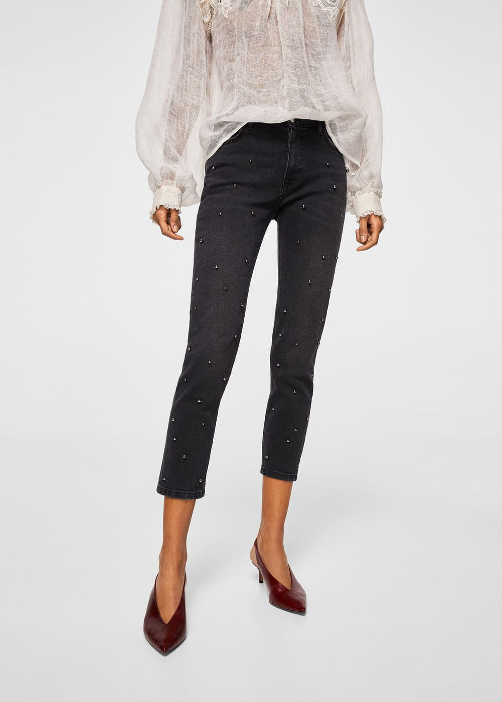 Pearls straight jeans | MNG