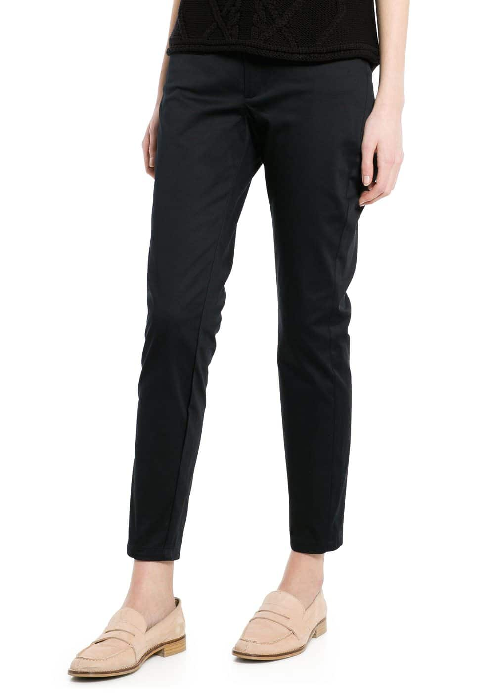 Cotton cropped trousers | MANGO MAN
