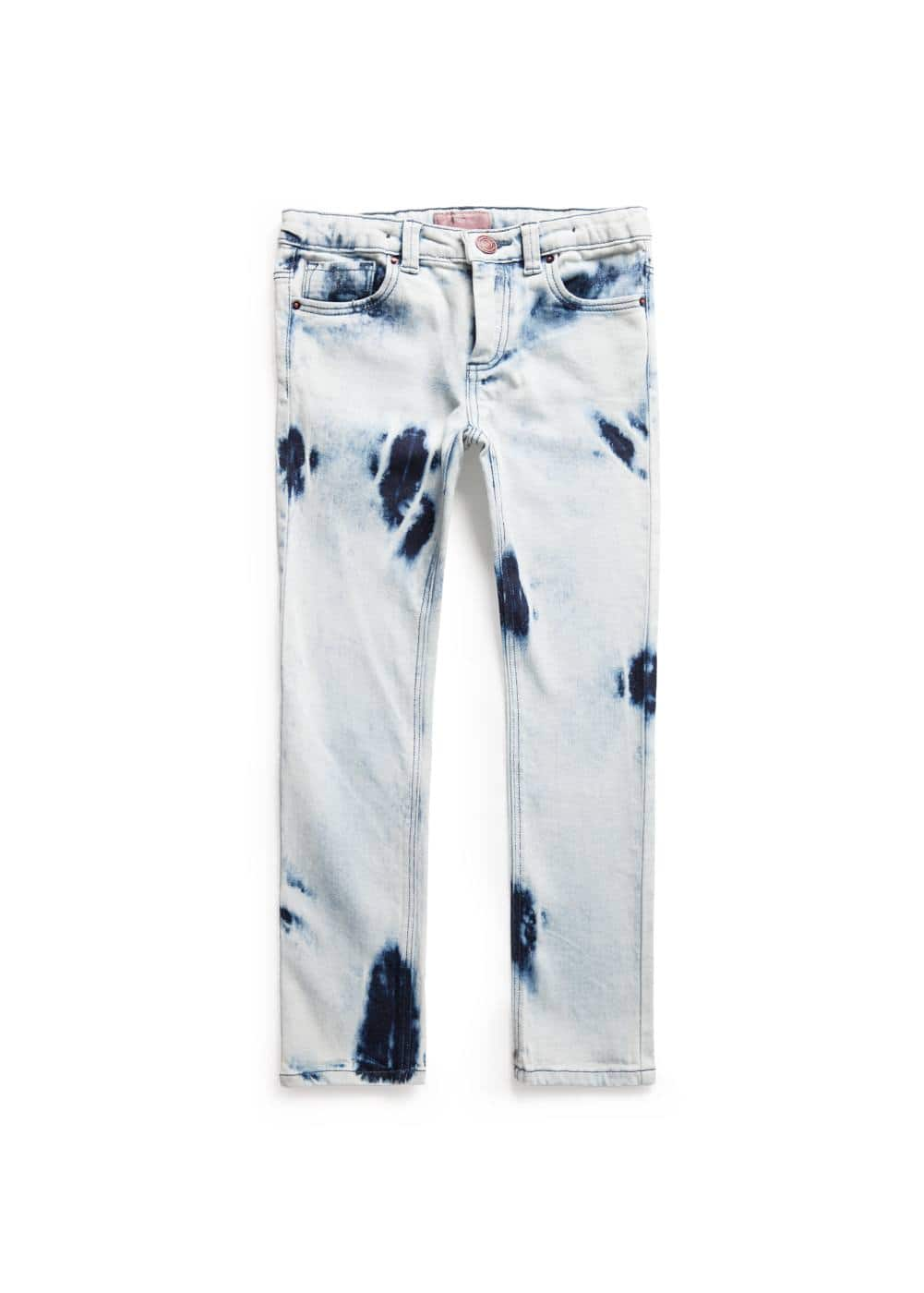 Bleached wash jeans | MANGO KIDS