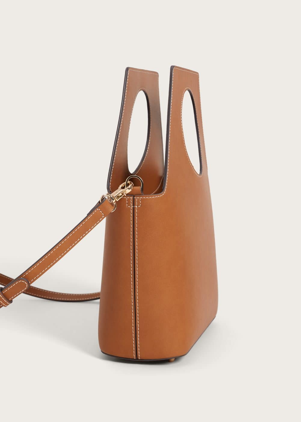 Circle handles bag | VIOLETA BY MANGO