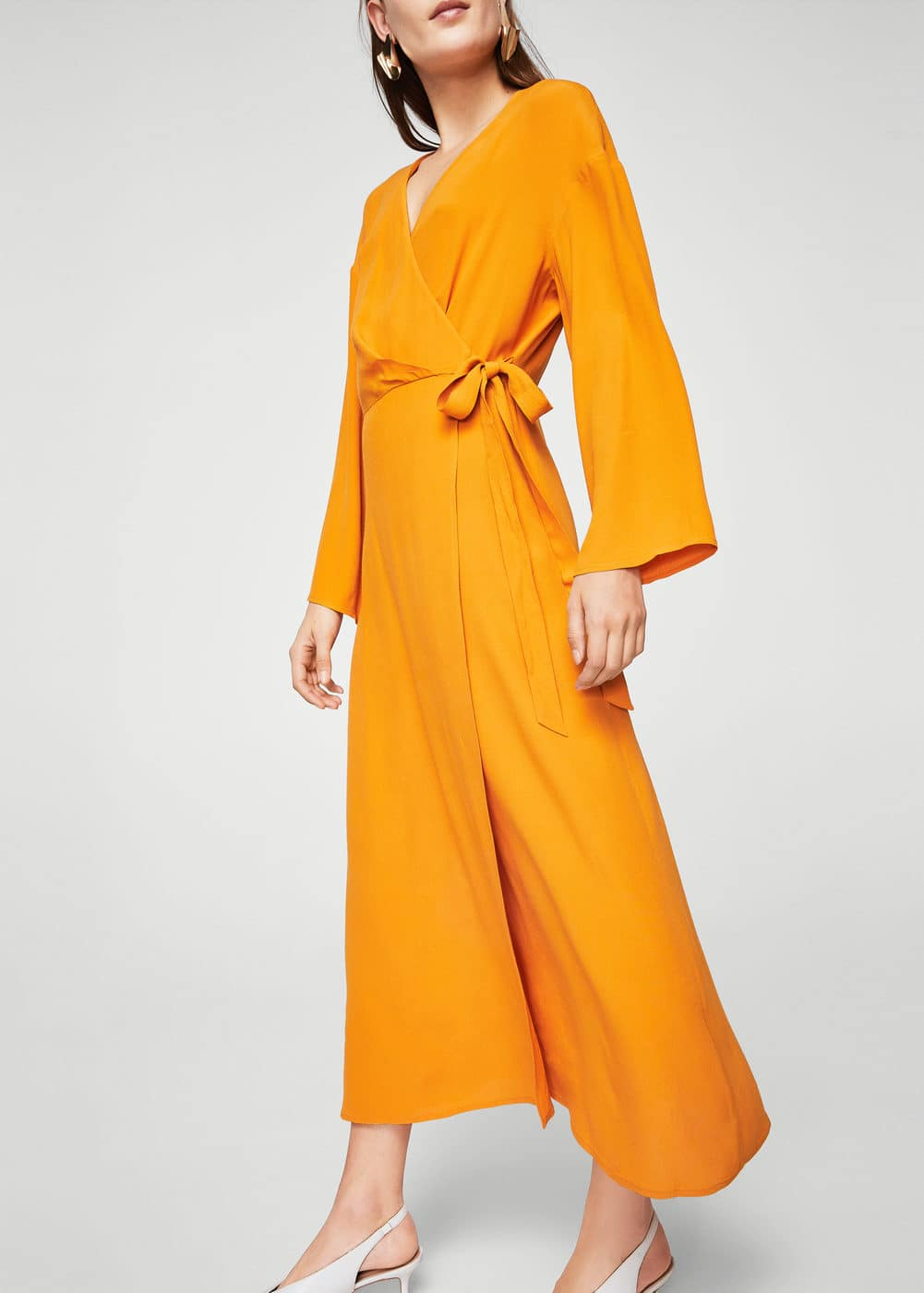 Crossed design dress | MANGO