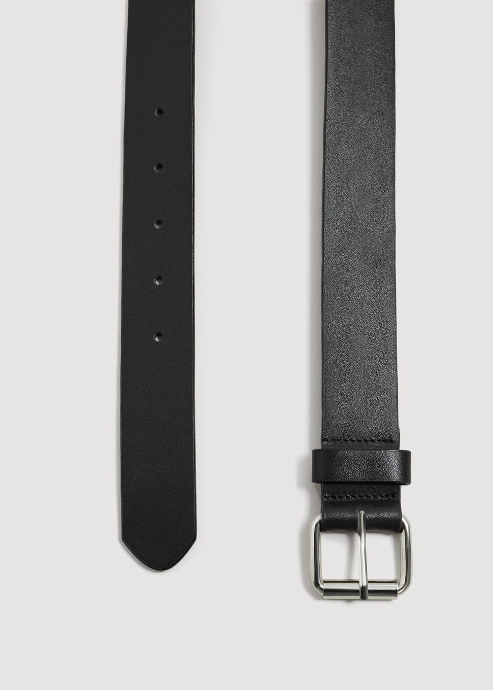 Key holder leather belt | MANGO MAN