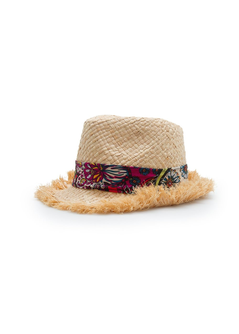Tropical straw hat | MANGO KIDS