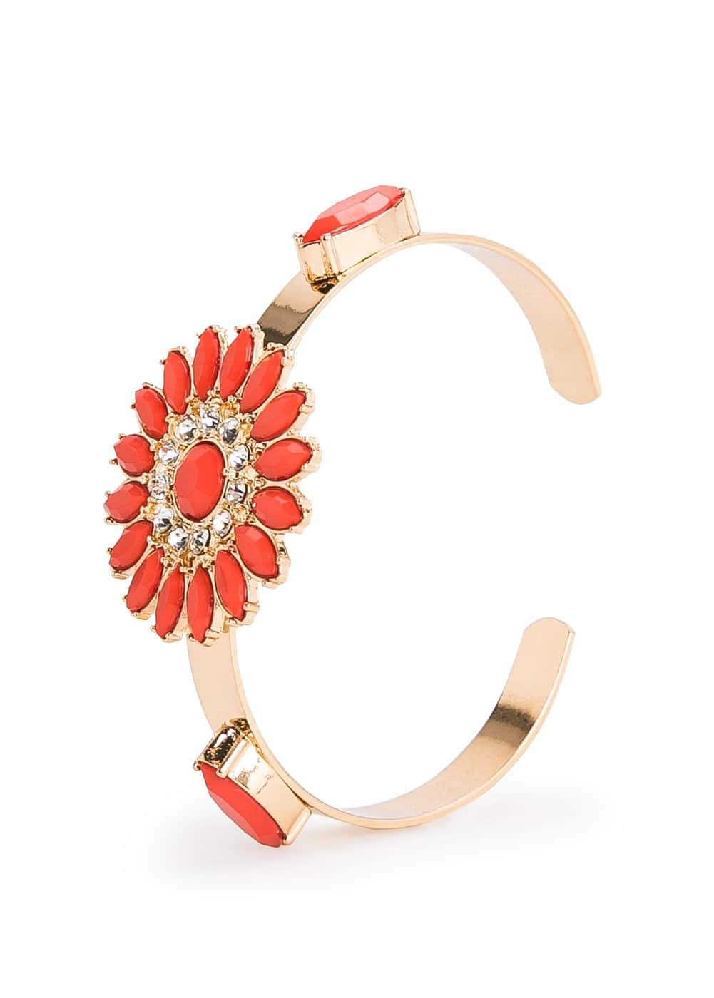 Flower bangle | MANGO