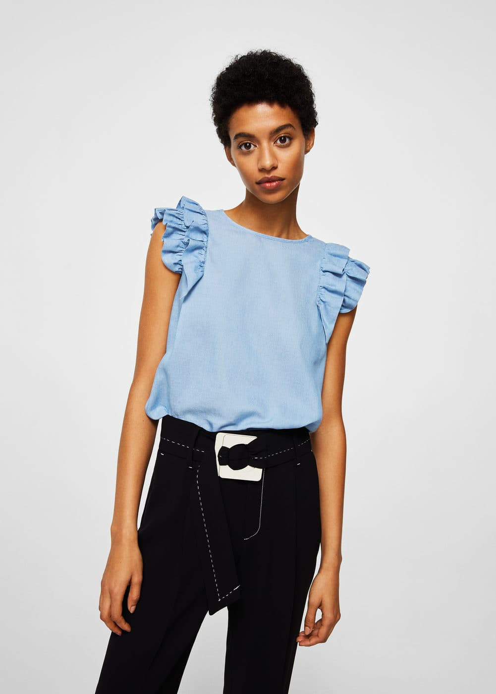 Ruffles soft top | MNG