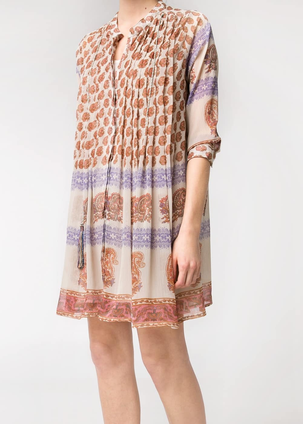 Hippie chic dress | MANGO