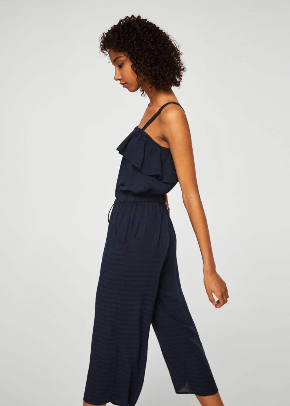 Off Shoulder Overall Mit Volants by Mango