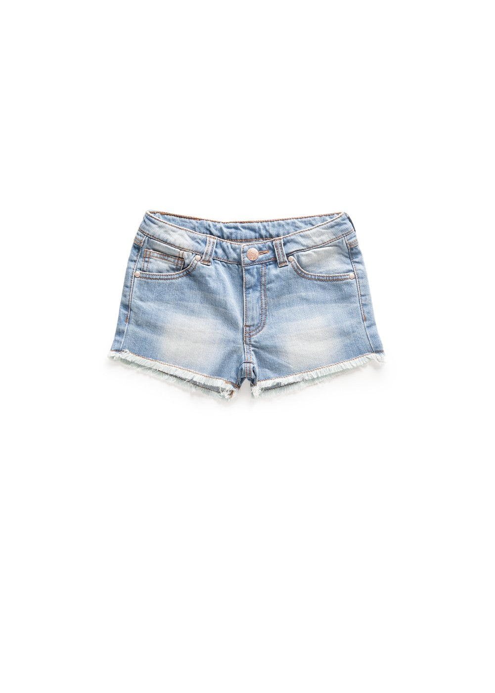 Medium denim shorts | MANGO KIDS