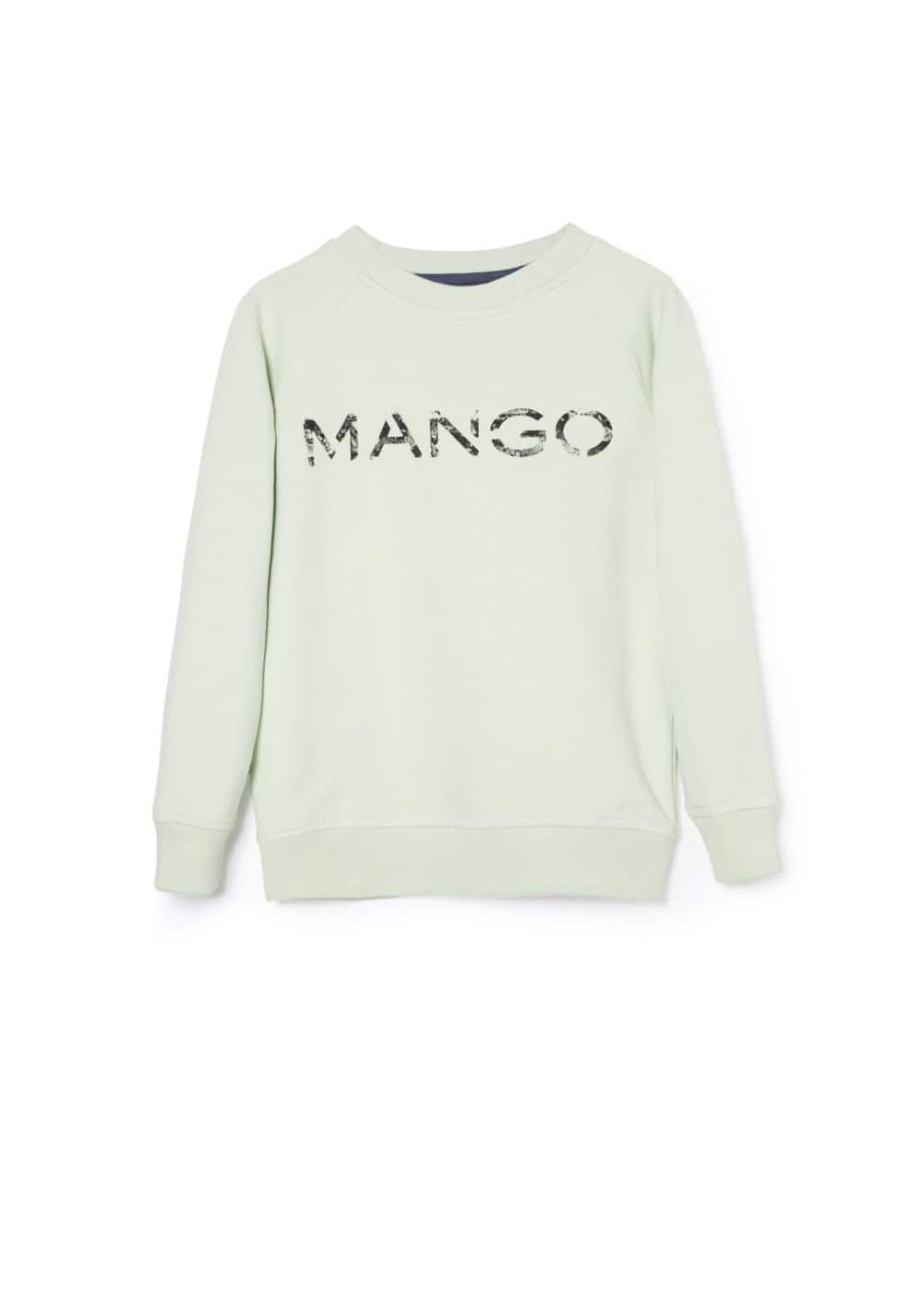 Sweat-shirt logo | MANGO KIDS