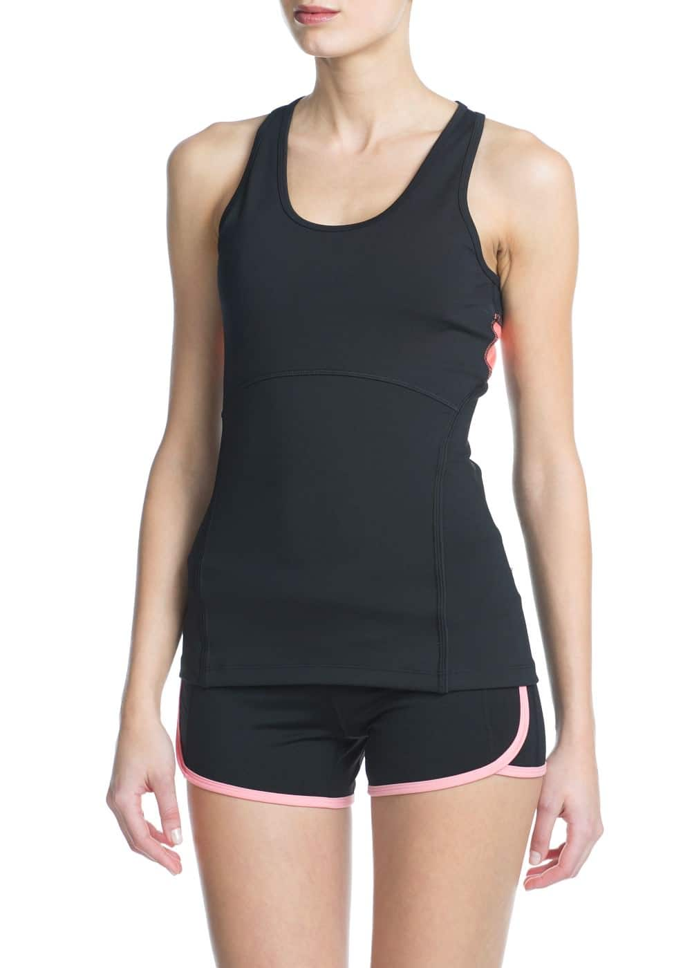 Fitness & running - active stretch vest | MANGO