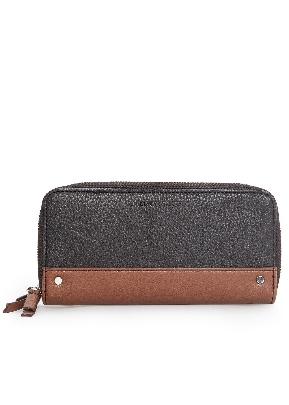 Contrast panel wallet | MANGO