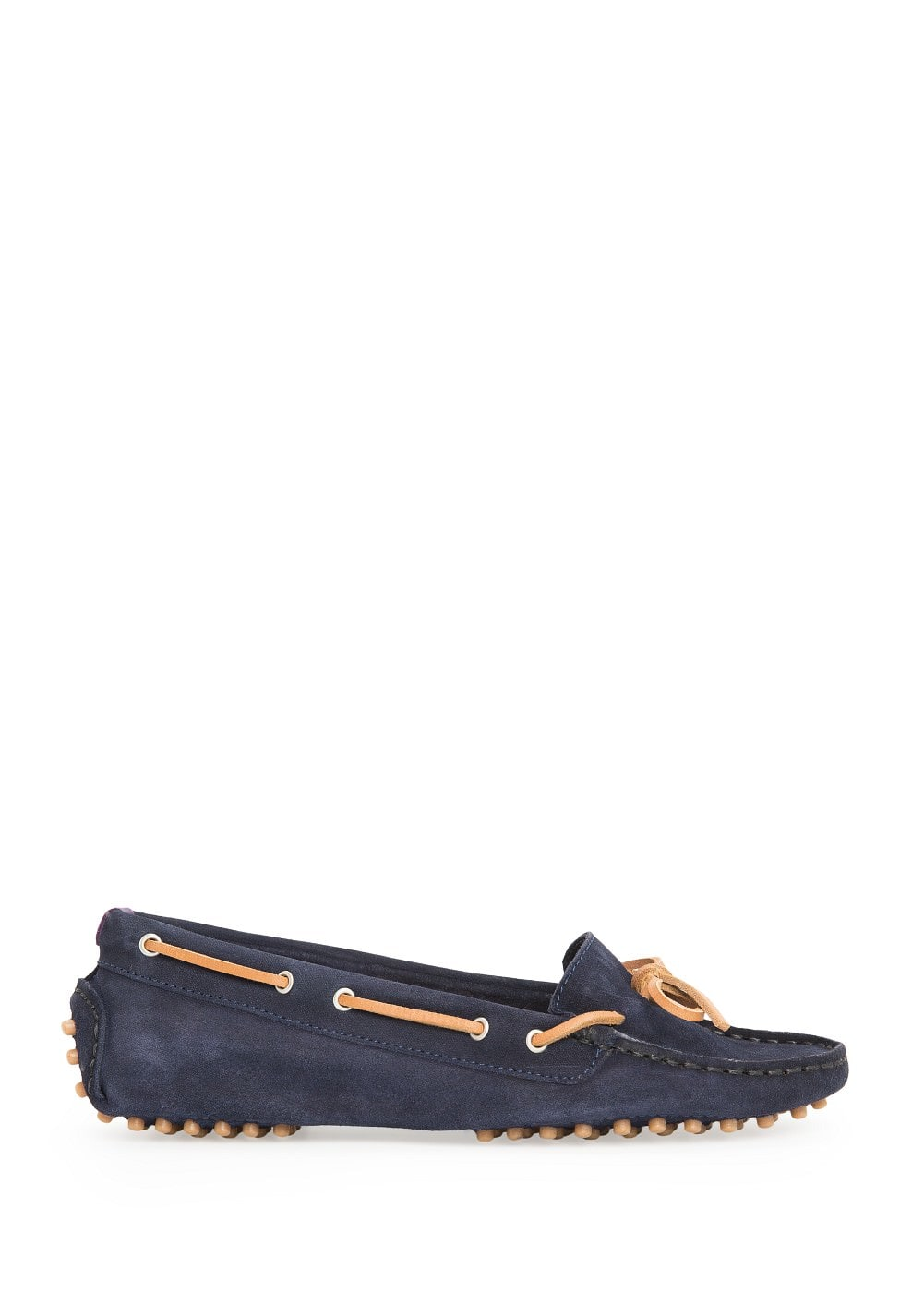 Suede driving shoes | MANGO