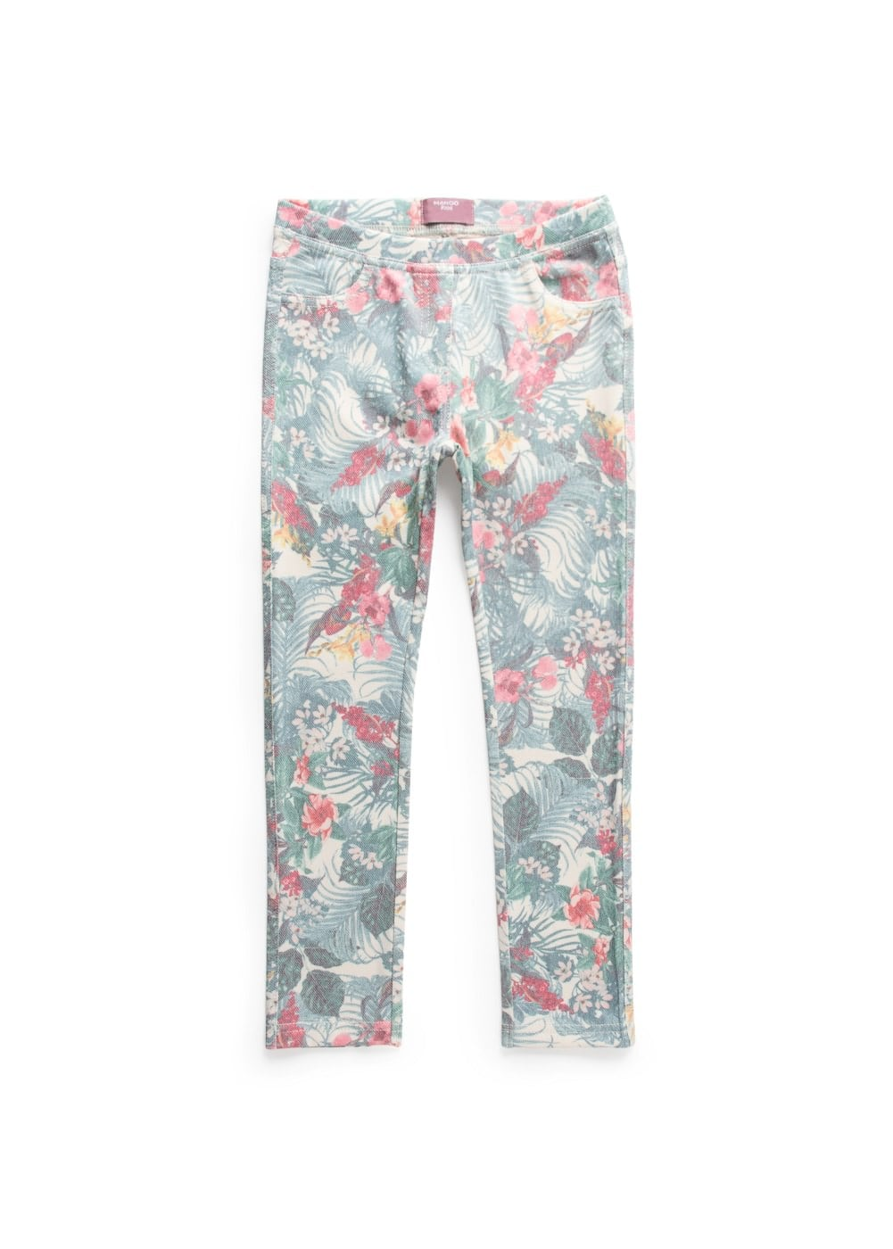 Tropical print leggings | MANGO KIDS