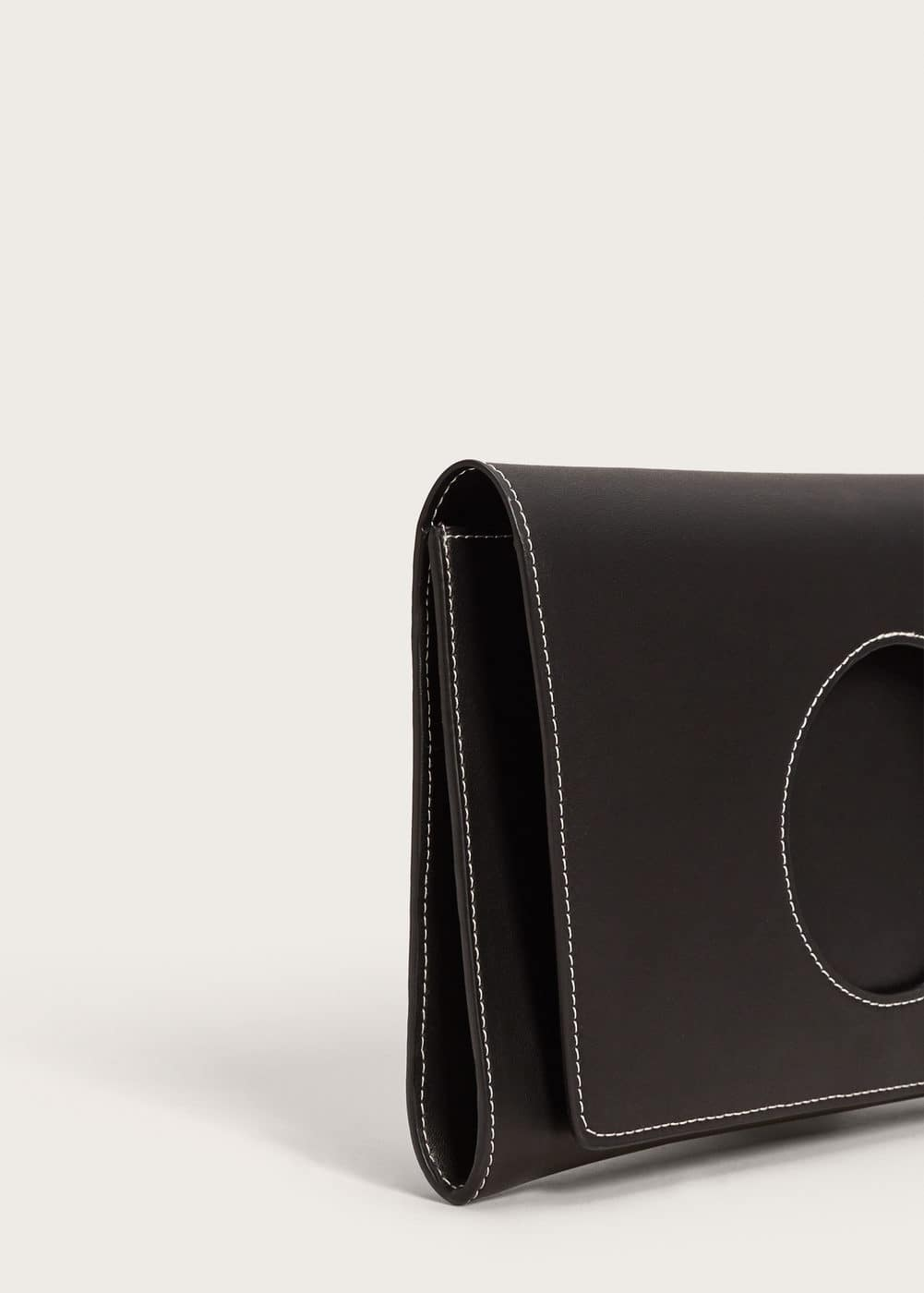 Circle flap clutch  | MANGO