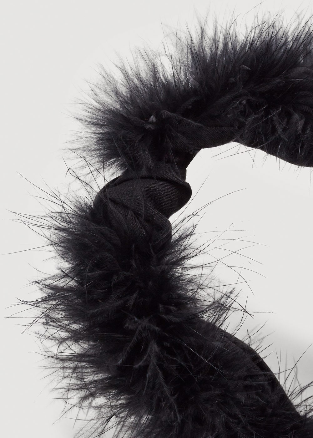 Fur detail hairband | MNG