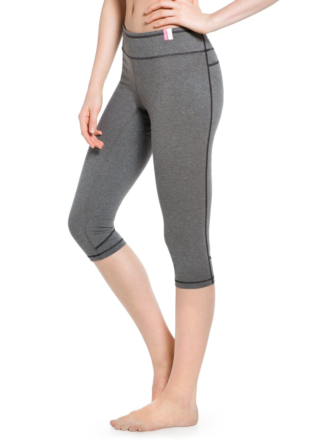 Yoga - slimming effect leggings | MANGO