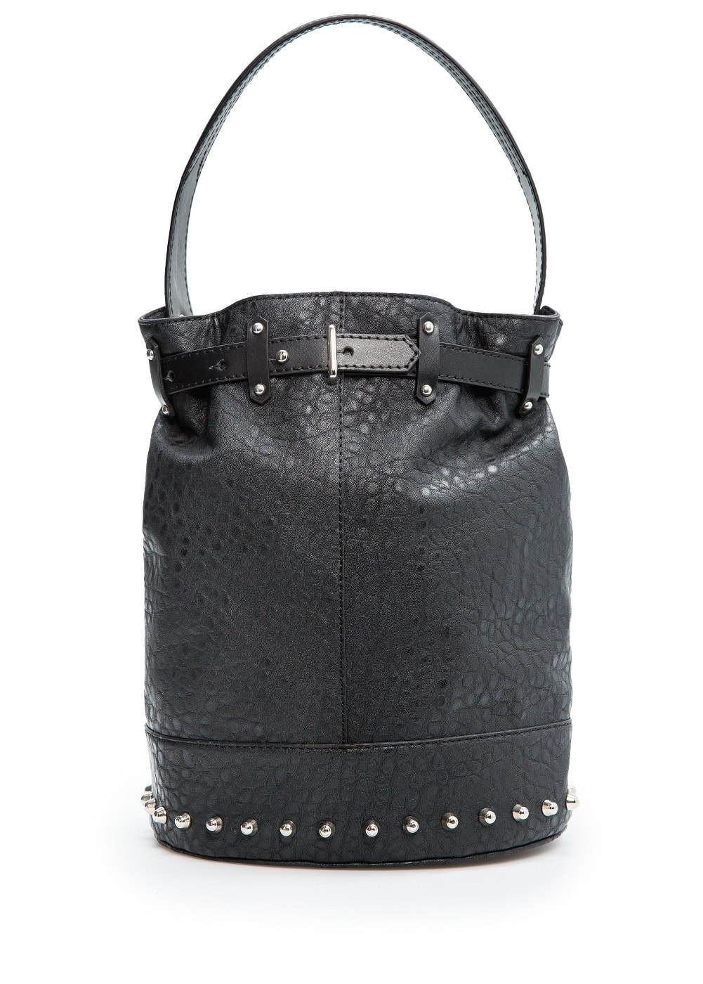 Studed bucket bag | MANGO
