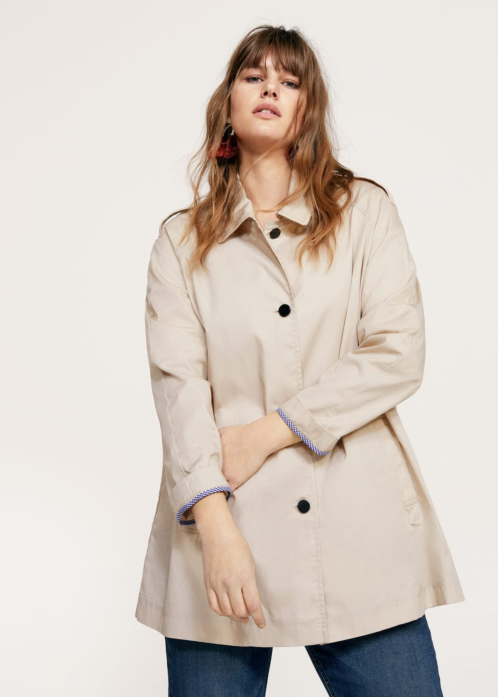 Unstructured short trench   VIOLETA BY MNG
