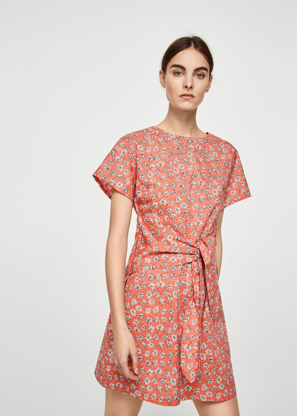 Bow floral dress | MNG