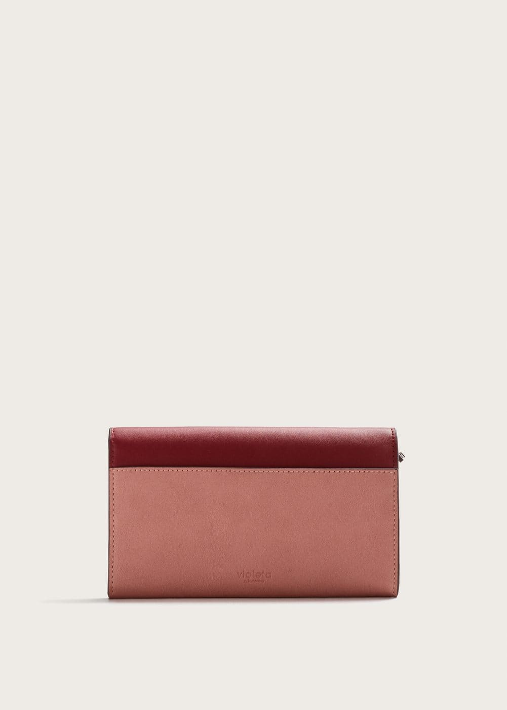 Tricolor wallet | VIOLETA BY MANGO