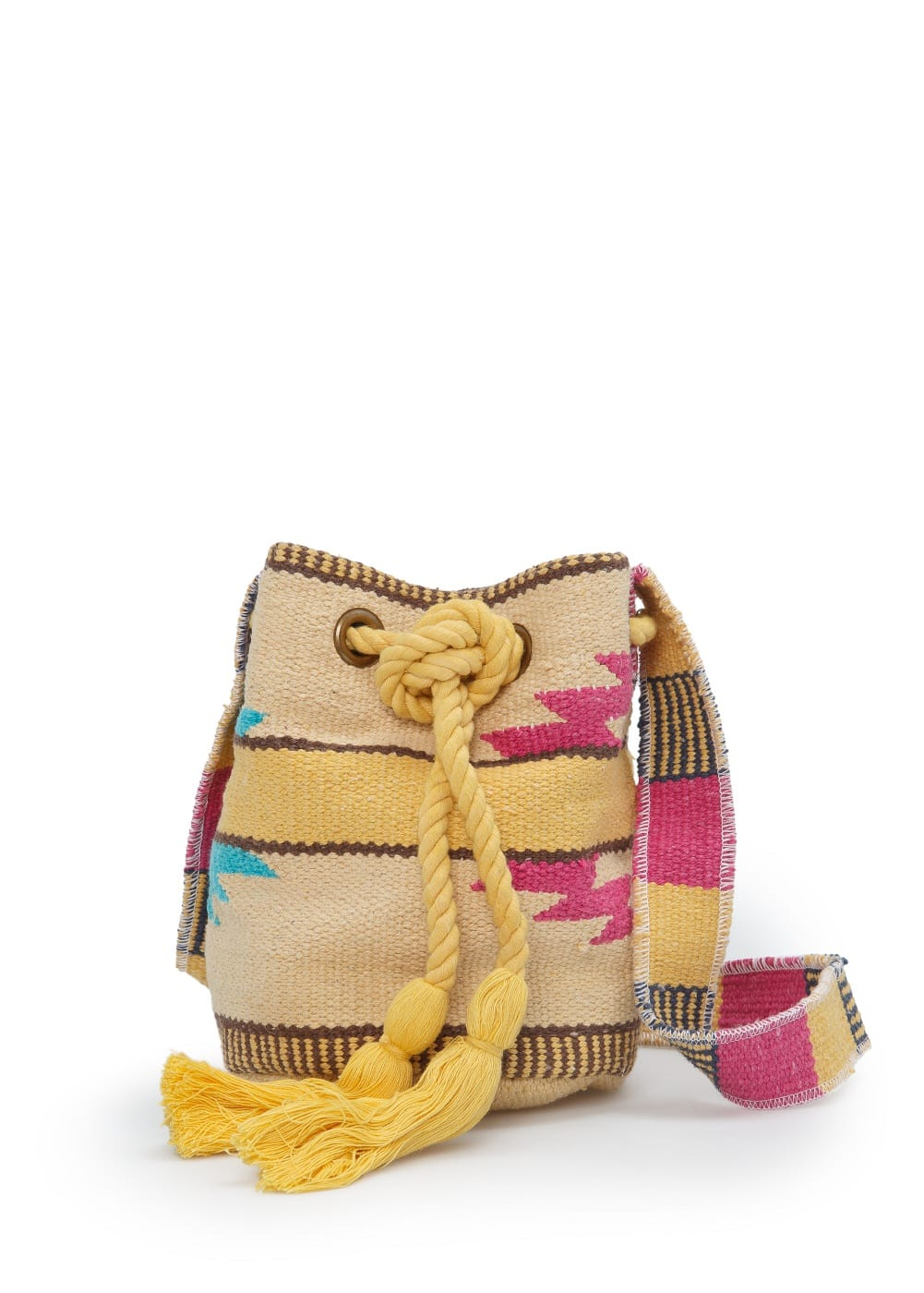 Ethnic bucket bag | MANGO