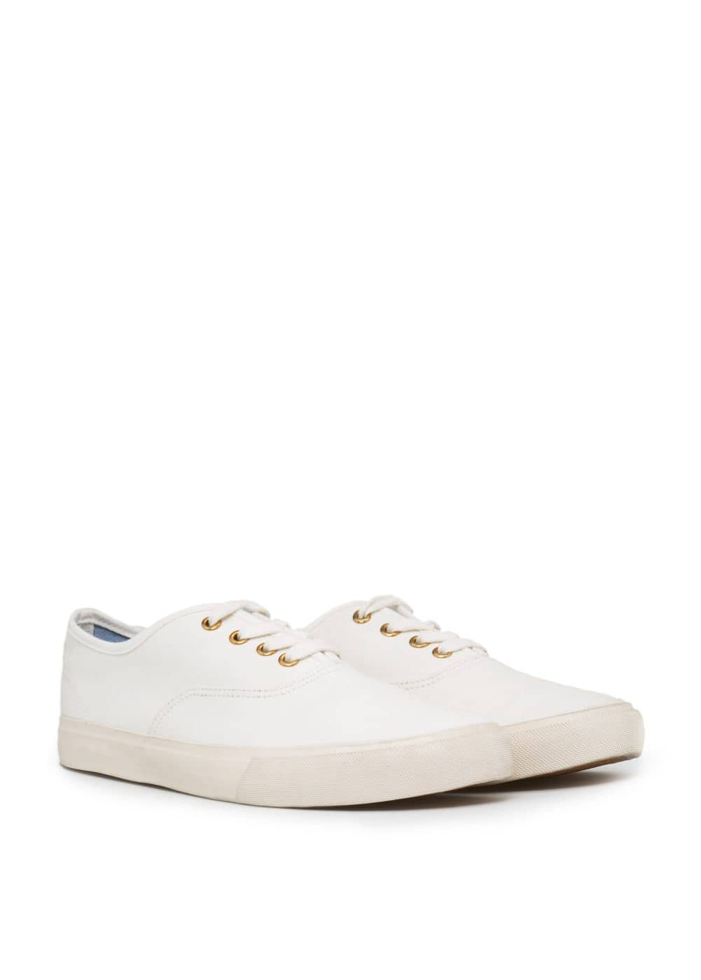 Canvas lace-up sneakers | MANGO