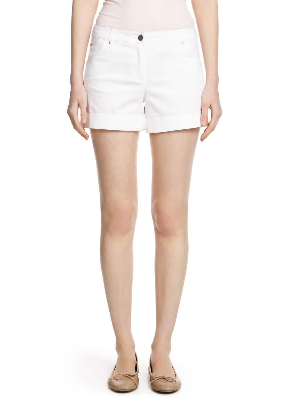 Stretch cotton shorts | MANGO