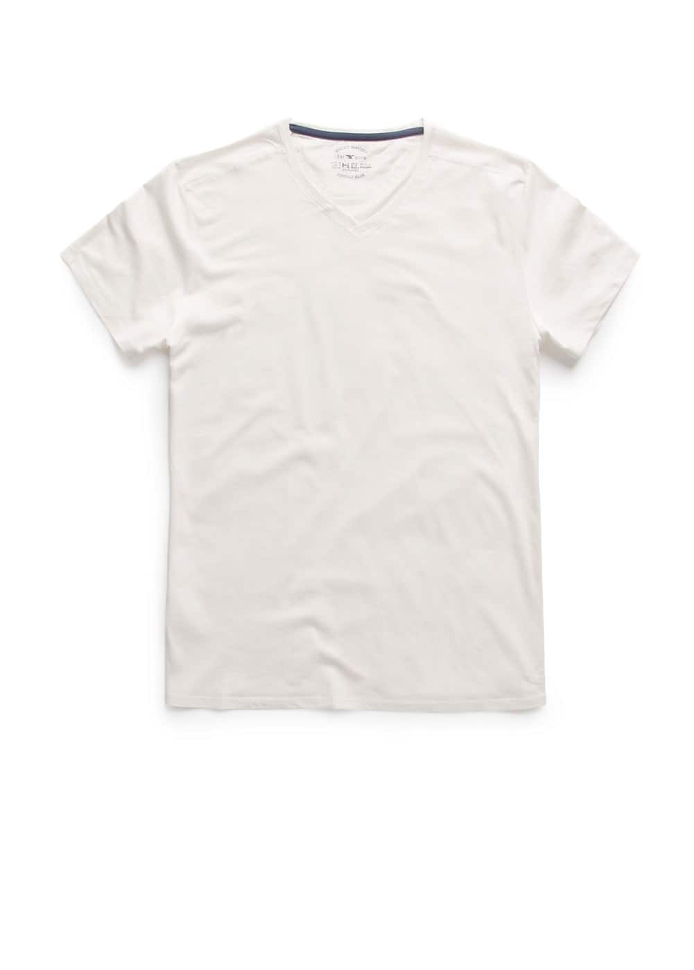 V-neck t-shirt | MANGO