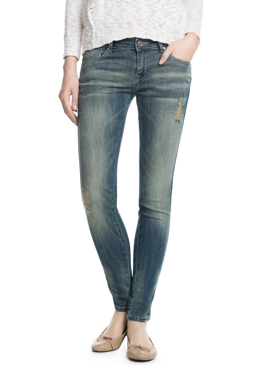 Jeans push-up uptown | MANGO