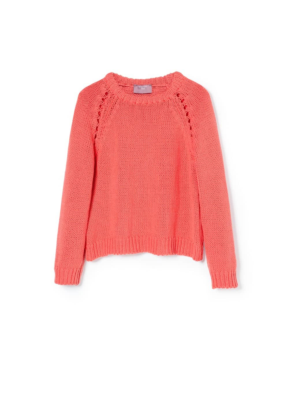 Open back sweater | MANGO KIDS