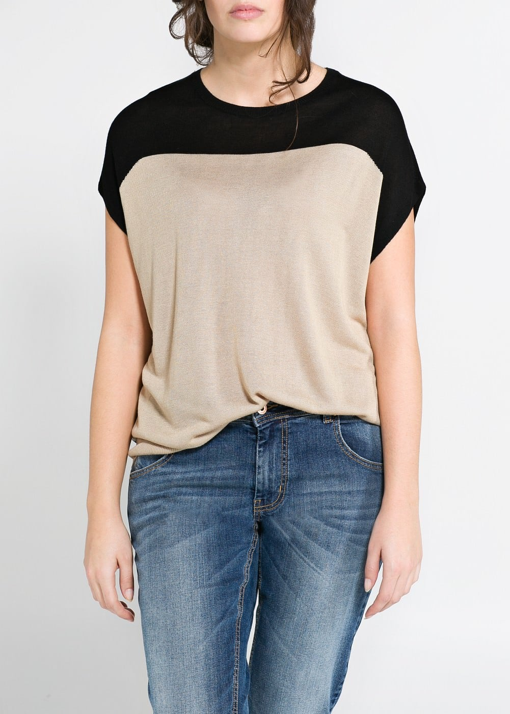 Color block top | MANGO