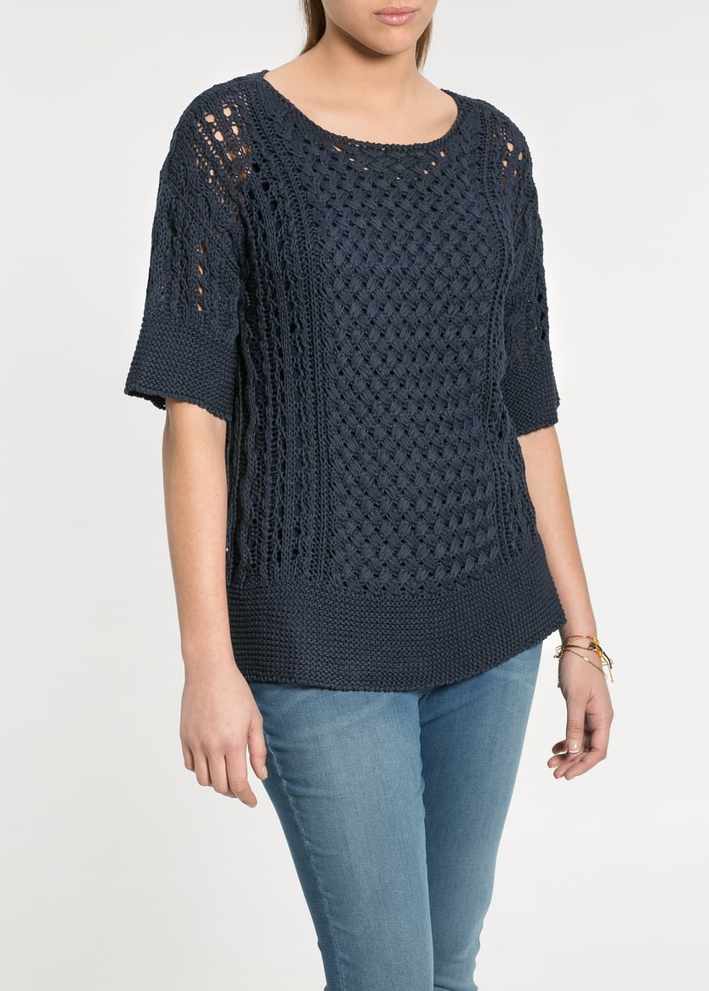 Openwork sweater | MANGO
