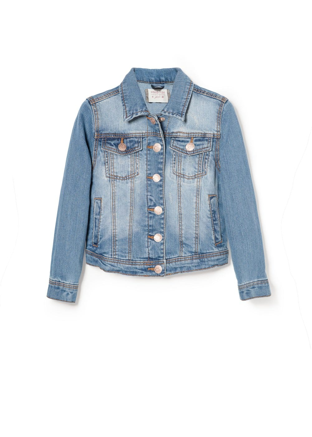 Medium denim jacket | MANGO KIDS