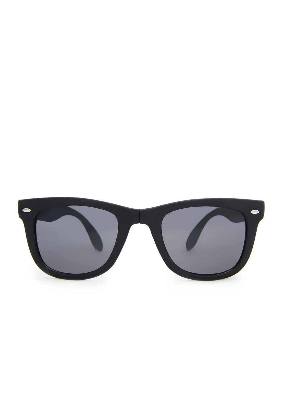 Foldable matte sunglasses | MANGO MAN