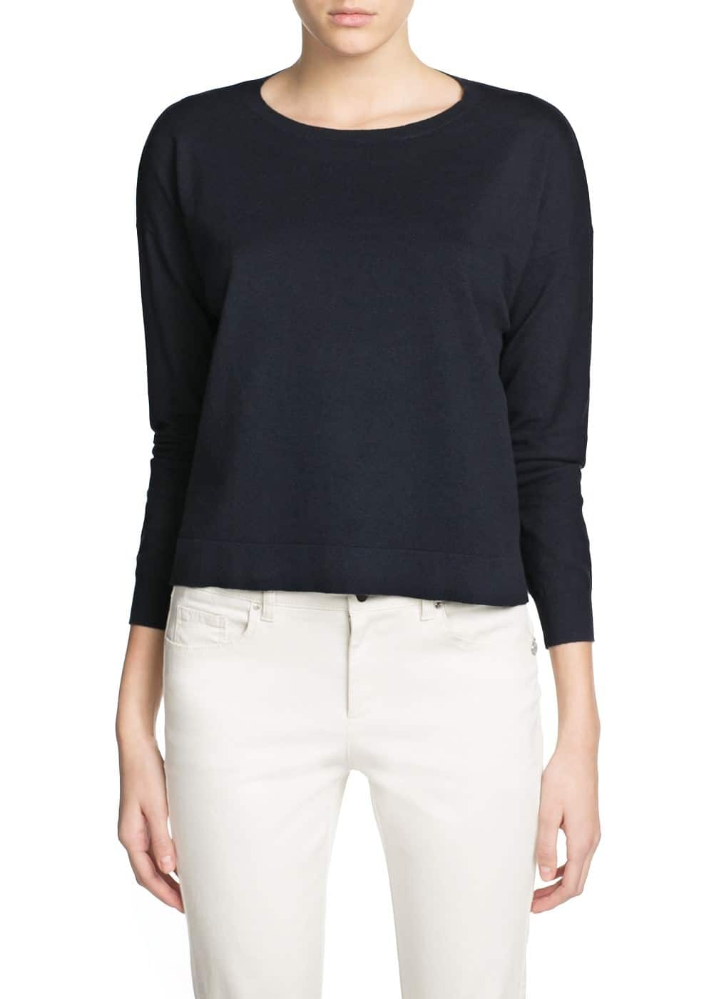 Essential round neck sweater | MANGO