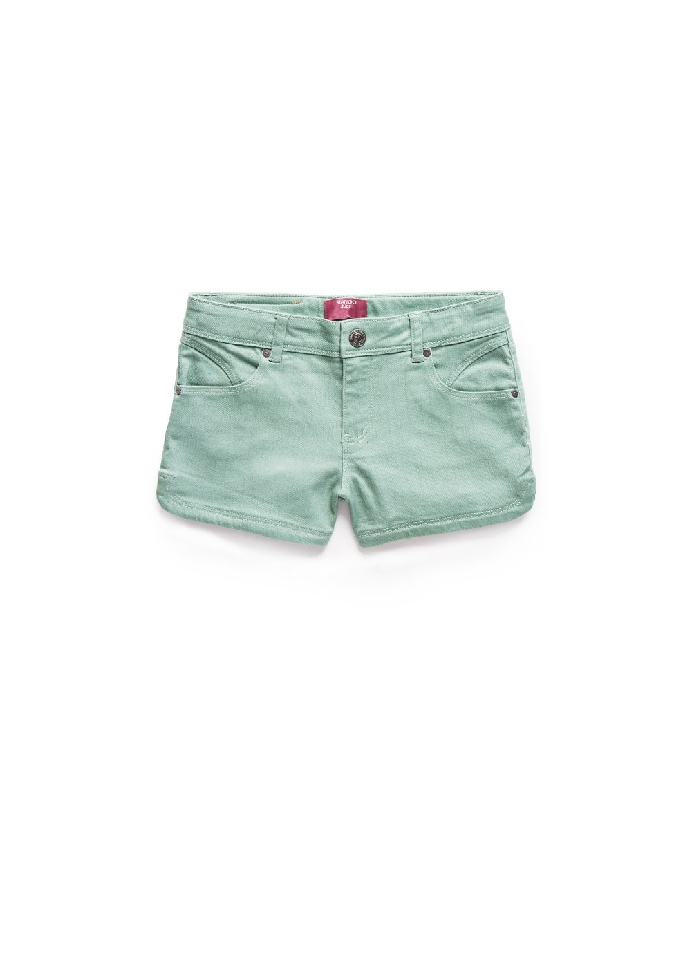 Skull denim shorts | MANGO KIDS