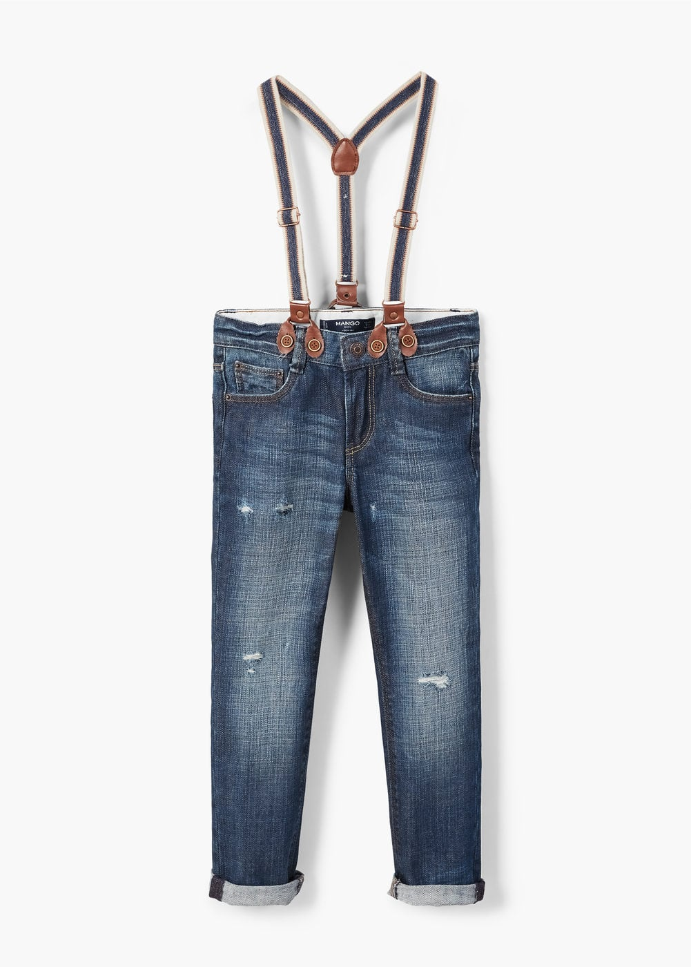 Straight fit jeans | MANGO