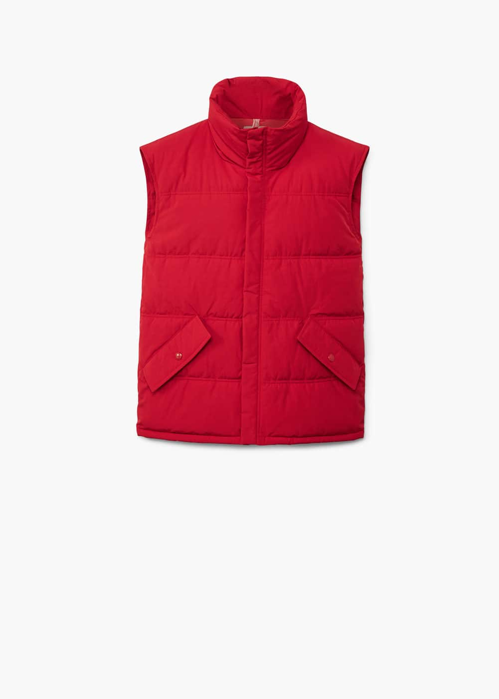 Cotton quilted gilet   MANGO
