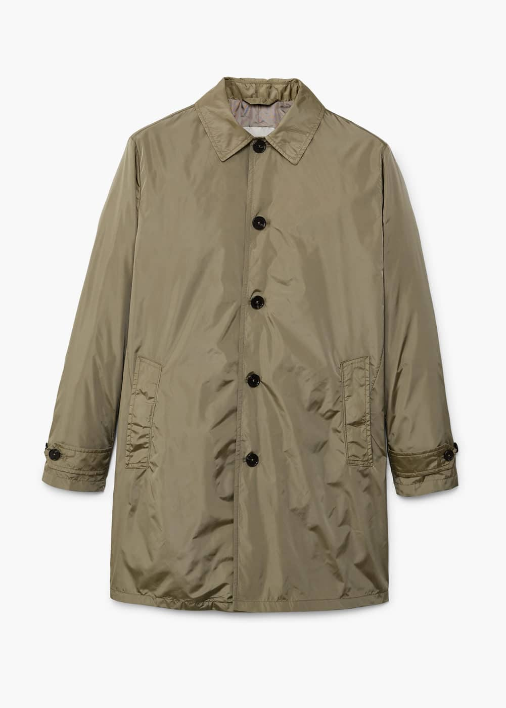 Water-repellent nylon trench | MANGO