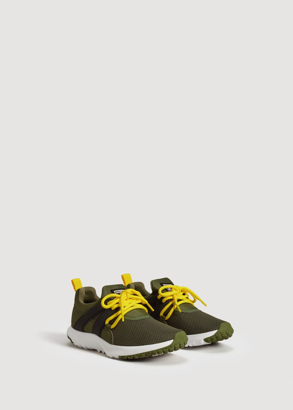 Lace up lightweight sneakers | MANGO