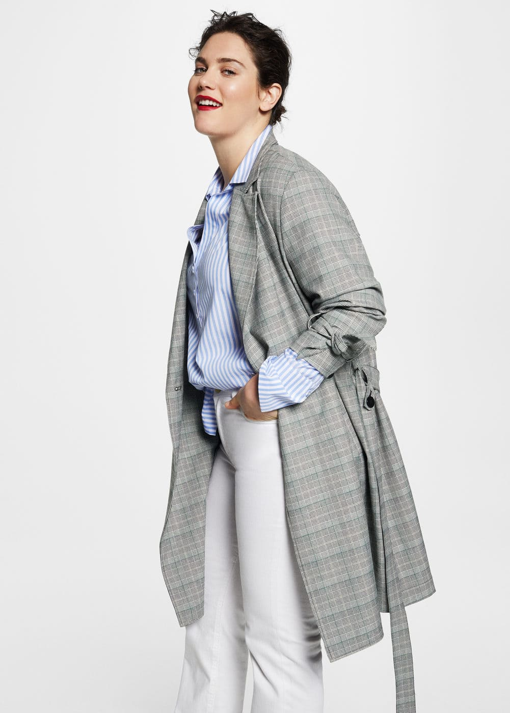 Prince of wales trench  | MANGO