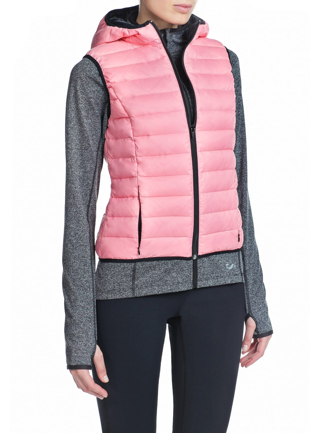 Fitness & running - hooded outdoor gilet | MANGO