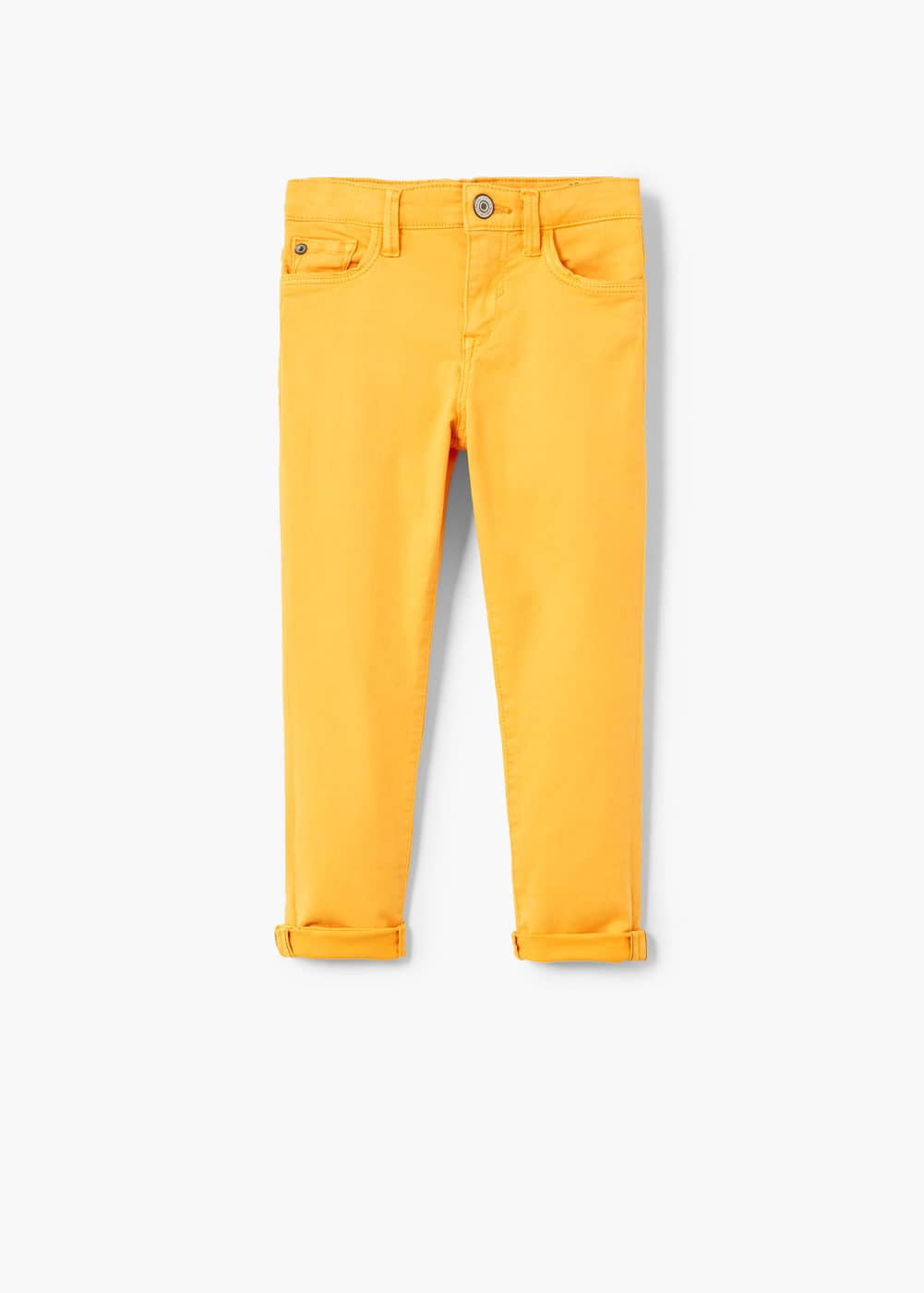 Pocket cotton trousers | MANGO